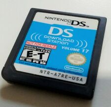 Nintendo DS Download Station Volume 17 Demo Cart Not For Resale NFR