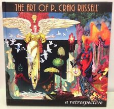 THE ART OF P CRAIG RUSSELL A Retrospective HC Book Limited Signed S/N 428/500
