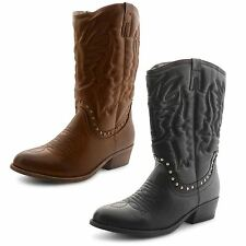 Dolcis Women's Synthetic Leather Mid-Calf Boots