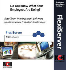 Productivity & Employee Attendance Software - Lifetime License - Email Delivery