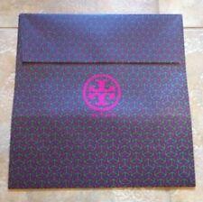 "Tory Burch Large Logo Purple & Green Gift Bag Box 16"" x 16"" x 6"""