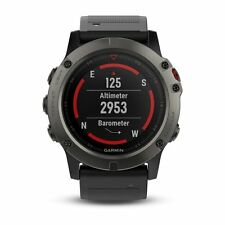 Garmin Fenix 5X Fitness GPS Watch 100K US TOPO Mapping Preloaded 010-01733-00