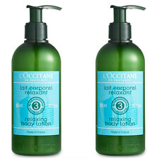 L'Occitane Aromachologie Relaxing Body Lotion 10.1 Fl Oz Set of 2