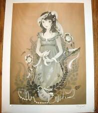 Amy Sol Art Print Amaranthine Giclee Print Signed S/#50 Shows w Audrey Kawasaki