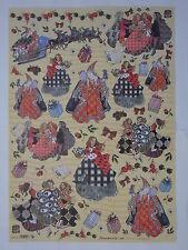 papier pour découpage technique serviette (thème:saint nicolas, cadeaux) 68X48cm