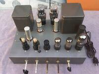 Mint Vintage Peerless A-100-A 100A Mono Vacuum Triode Tube AMP (Altec) Amplifier