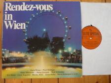 Rendez-vous in Wien Hans Moser Paul Hörbiger Peter Alexander Erni Bieler  LP