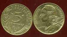 5 centimes 1997   MARIANNE    SPL