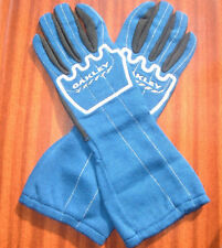OAKLEY BLUE, RED OR BLACK DRIVING RACING GLOVES LEATHER / KEVLAR BNIB