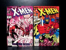 COMICS: Uncanny X-Men #246-247 (1989), Master Mold app - RARE