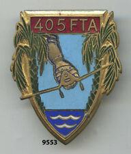 Insigne artillerie , 405 Rgt. des Forces Terrestres Antiaériennes