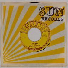 BOBBY SHERIDAN: Red Man / Sad News US SUN 354 Rockabilly Charlie Rich 45 NM-