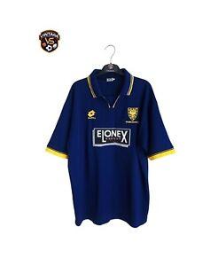 Vintage ORIGINAL Wimbledon FC Football Home Shirt 1996-1997 (XL) Lotto Jersey