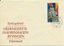 DDR ● FDC / Ersttagsbrief 1969 ● Gedenkstätte in Kopenhagen / Ryvangen