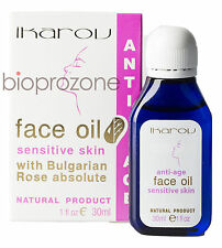Anti-Ageing Face Oil for Sensitive Skin with Rose Essential Oil 30 ml Ikarov