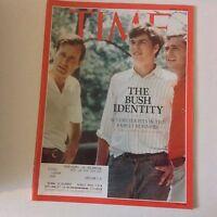 Time Magazine The Bush Identity March 16, 2015 052617nonrh