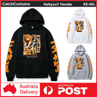 Anime Haikyuu!! Hoodie Men Women Hinata Shoyo Cosplay Sweatshirt Jacket Coat