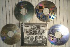 Age Of Empires - Collector's Edition - Limited Edition 3 Disc (PC CD-ROM)+1 CD