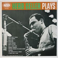 HERB GELLER: Plays EmARCY Japan Jazz w/ Curtis Counce VINYL LP NM Wax EXPR-1025