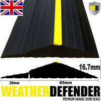 Genuine WD WEATHER DEFENDER Garage Door Floor Seal Draught Excluder & Adhesive