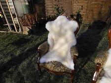 Lammfell/Schaffell Weiß ca. 100-109 cm Natur