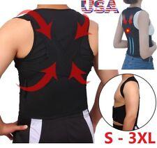 Back Posture Corrector Support Shoulder Posture Brace Adjustable Lumbar Belt