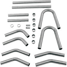 "Paughco 1-3/4"" Build Your Own Exhaust Pipe Kit for Twin Cam, Evo Big Twin, XL"