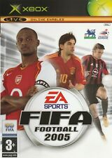 Fifa football 2005 (Xbox classic) - free postage - with manual