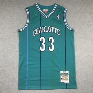 Alonzo Mourning Charlotte Hornets Green 92-93 Hardwood Classics Swingman Jersey