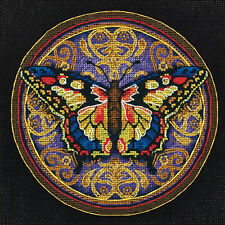 Cross Stitch Kit ~ Dimensions Gold Collection Ornate Butterfly #65095