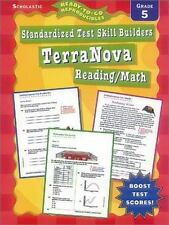 Standardized Test Skill Builders: Terranova: Reading/Math: Grade 5-ExLibrary