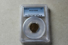 1924-S Lincoln Wheat Cent  PCGS XF 45