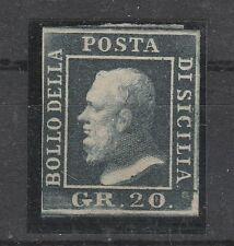 FRANCOBOLLI 1859 SICILIA 20 GRANA MLH  D/1649