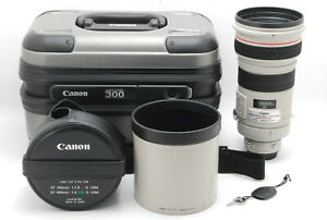 【MINT IN TRUNK】Canon EF 300mm f/2.8 L IS USM Telephoto Lens From JAPAN
