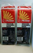 "Hoover Type ""C"" Vacuum Bags 8 Bags / Brand New"
