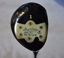 Vintage Spalding Top Flite Model 31 Persimmon Driver Excellent Condition