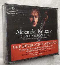 A.KNIAZEV : BACH CELLO SUITES CELLO-SUITEN Violoncelle seul SEALED scellé 3xCD
