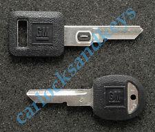 1987-1990 Chevrolet Corvette OEM Vats Key & Secondary D Key Blank Blanks
