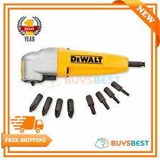 Dewalt Extreme Impact Right Angle Attachment + 9 Screwdriver Bits - DT71517-QZ