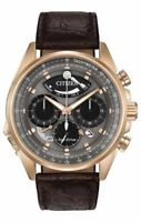 Citizen Eco-Drive Men's Calibre 2100 Flyback Chronograph 44mm Watch AV0063-01H