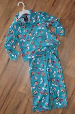 Girls Paul Frank 2 pc Fleece Shirt & Pants Pajamas Set ~ Rainbow/Cupcake ~ Sz 3T