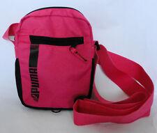 PUMA Small Pink/Black Zip Closure Cross Body/Shoulder Bag Women's/Girls