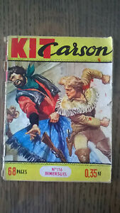 KIT CARSON N°116 IMPERIA 1961