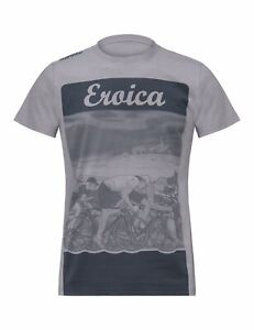 Eroica Epoca T-Shirt in Grey- Grigia- By Santini