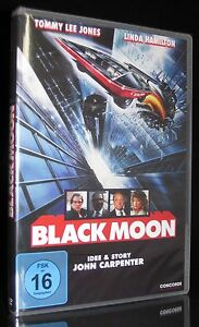 DVD BLACK MOON - TOMMY LEE JONES + LINDA HAMILTON - Idee: JOHN CARPENTER * NEU *