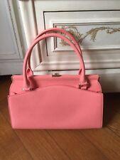 Magnifique sac cuir rose corail TARA JARMON neuf