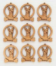Basenji Mini Ornaments Box of 9