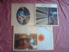 DON WILLIAMS 3 LPS-VISIONS,YOU'RE MY BEST FRIEND,I BELIEVE IN YOU