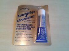 1 Tube Autosol Gummipflege / Chromschutz / Batteriepolfett - 50 Gramm