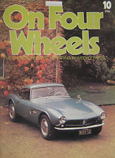 On Four Wheels magazine Issue 10 featuring BMW, Campbell's Bluebird, Bianchi